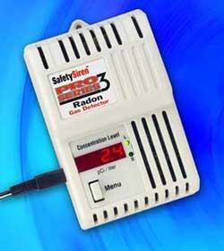 Safety Siren Pro3 Radon Detector