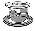 Dranjer J-N6 Large floor drain