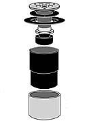 Dranjer F-N2 floor drain